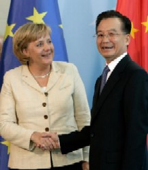 Merkel inChina