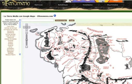 Mapa TierraMedia