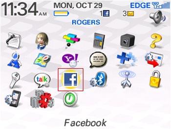 Facebookblackberry