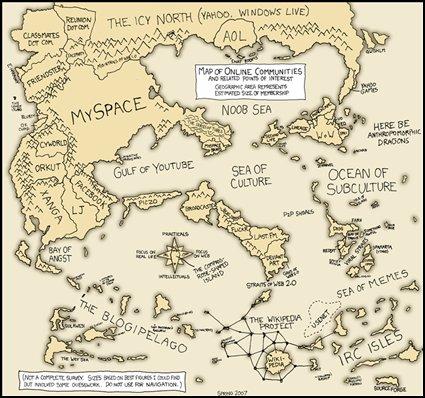 Mapa comunidadesonline